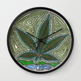 THC Wall Clock