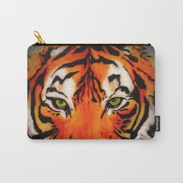Tiger in the Shadows Carry-All Pouch