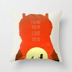 Wild Things Throw Pillow