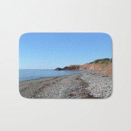Watercolor Landscape, Cape Breton 15, Nova Scotia, Canada Bath Mat