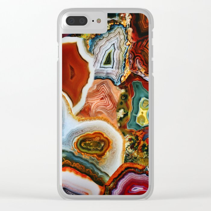 The Earth for the all-pervading Skies, the Moon and the Sun Clear iPhone Case