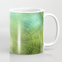 spider Mugs featuring spider by Antracit