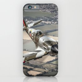 Vickers Armstrong Spitfire FR XIV iPhone Case