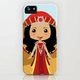 Girls of the World: Algeria iPhone Case
