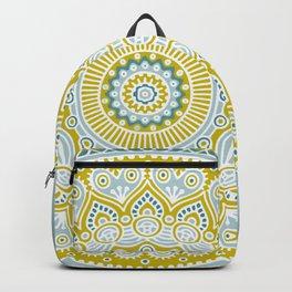 Mustard Mandala Backpack