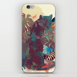 Panther Square iPhone Skin