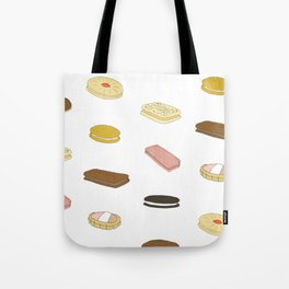 biscui - biscuit pattern Tote Bag