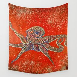 """Arma Dei""Arms of God  octopus trip Wall Tapestry"