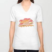 sushi V-neck T-shirts featuring Sushi !! by Bartone
