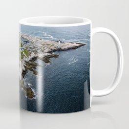 Peggy's Cove Below Coffee Mug