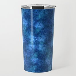 I'm Blue; Fluid Abstract 57 Travel Mug