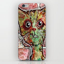 Chester the zombie cat iPhone Skin