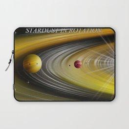 Stardust in Rotation. Laptop Sleeve