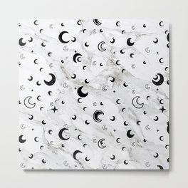 Dreams in Marble Metal Print