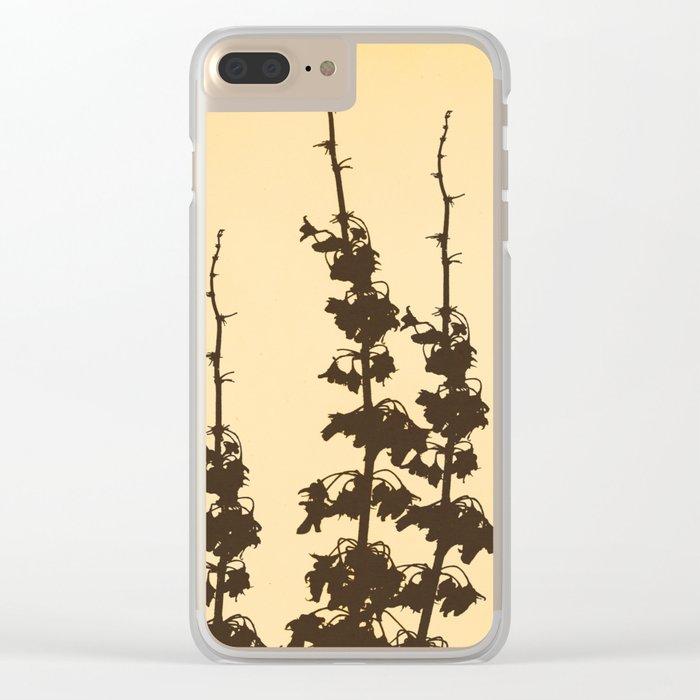 Florales · plant end 4 Clear iPhone Case
