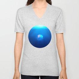 Jellyfish are beautiful Unisex V-Neck
