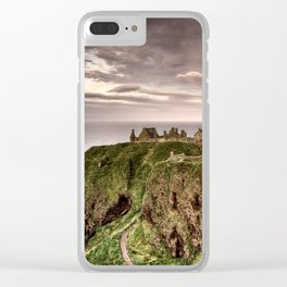 Dunnottar Castle Clear iPhone Case