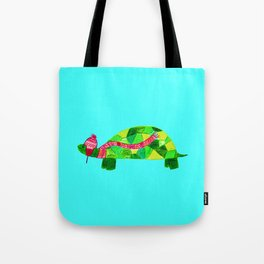 Turtles need scarves & hats, too! Tote Bag