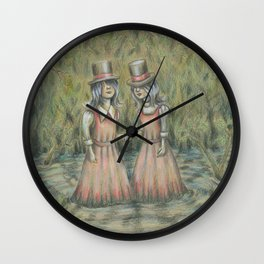Double Blind I:  Where We're Going You Don't Need Eyes Wall Clock