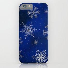 Magic winter night iPhone Case