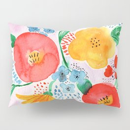 Abstract Garden No. 2 Pillow Sham