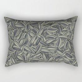 Pipas Mania (Spanish for sunflower seeds) Rectangular Pillow