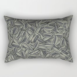 Pipas Mania (Spanish for sunflower seeds) Rectangular Pillow