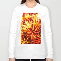 cacti Long Sleeve T-shirts featuring CACTI by Charles Harry Mackenzie