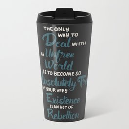 Unfree World Travel Mug