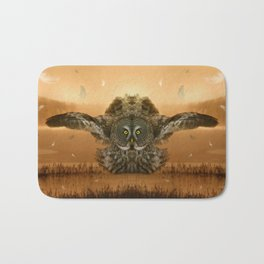 The greatest great gray of them all Bath Mat