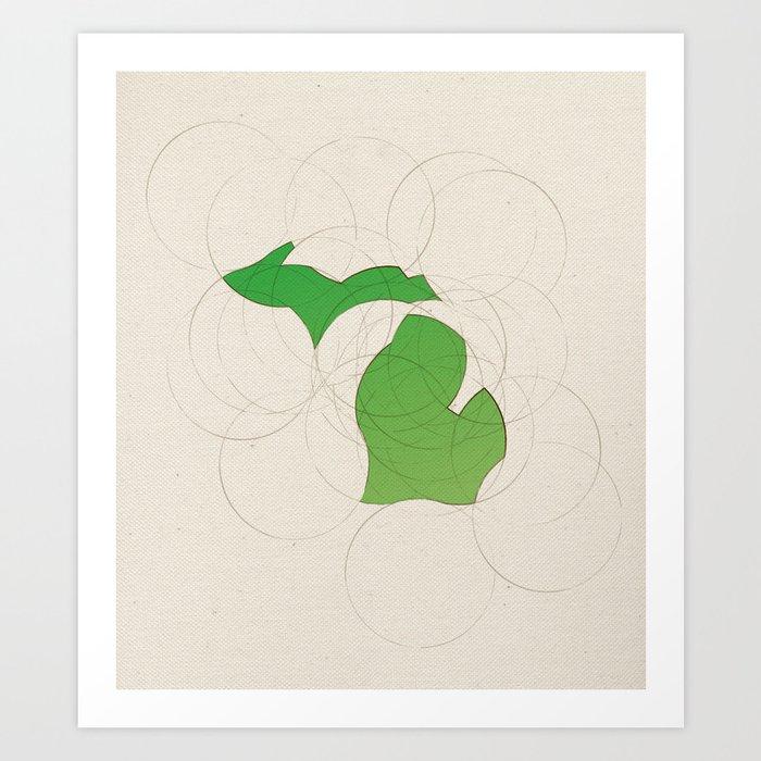 Michigan 26 Art Print