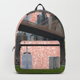 pink nyc  Backpack