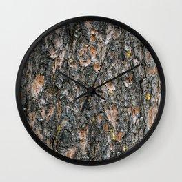 Tree Bark 1.0 Wall Clock