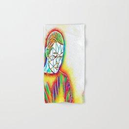 Colorful Sadness Hand & Bath Towel