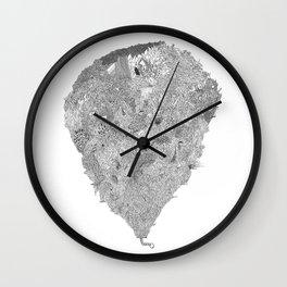 Lucky Rabbit's Foot Wall Clock