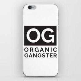 Organic Gangster - Vegan/Natural/Vegetarian iPhone Skin