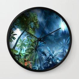 Day & Night Tropic Wall Clock