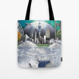 TOMORROW WORLD Tote Bag