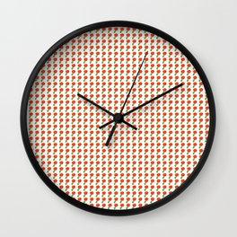 Little Red Flower Wall Clock