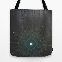 Blender experiment no.3 Tote Bag
