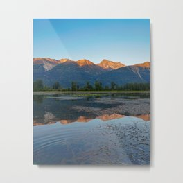 As the day ends... Metal Print