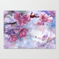 """sakura Canvas Prints featuring """"Sakura"""" by Emma Reznikova"""