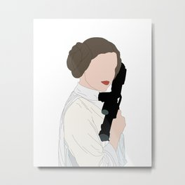 Leia Metal Print