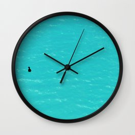 Duck on Water Wall Clock
