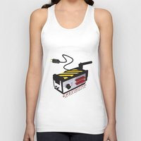 ghostbusters Tank Tops featuring Ghostbusters by JAGraphic