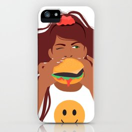 Eat What You Want iPhone Case