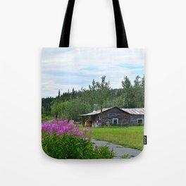 Pioneer Cabin - Alaska Tote Bag