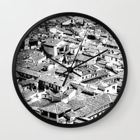 florence Wall Clocks featuring Florence by frankWAYNE