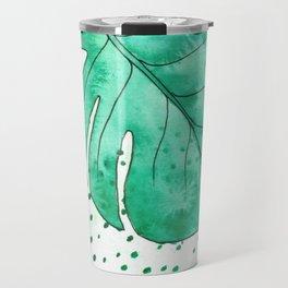 monstera monday Travel Mug