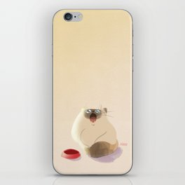 Poor Starving Baby iPhone Skin